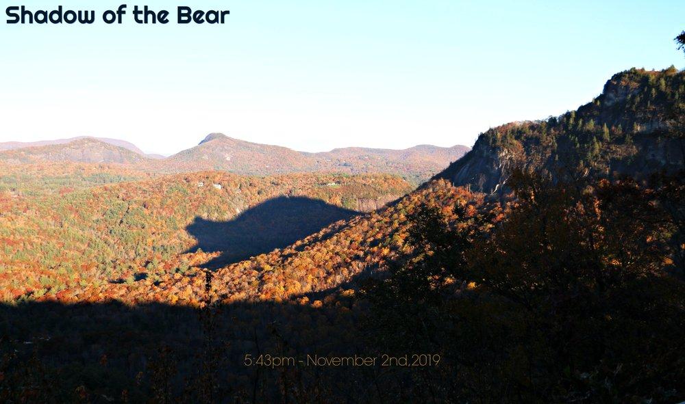 Shadow of the Bear: Cashiers, NC