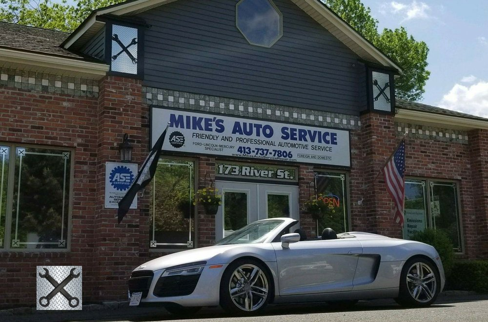 Mike's Auto Service & Repair: 173 River St, West Springfield, MA