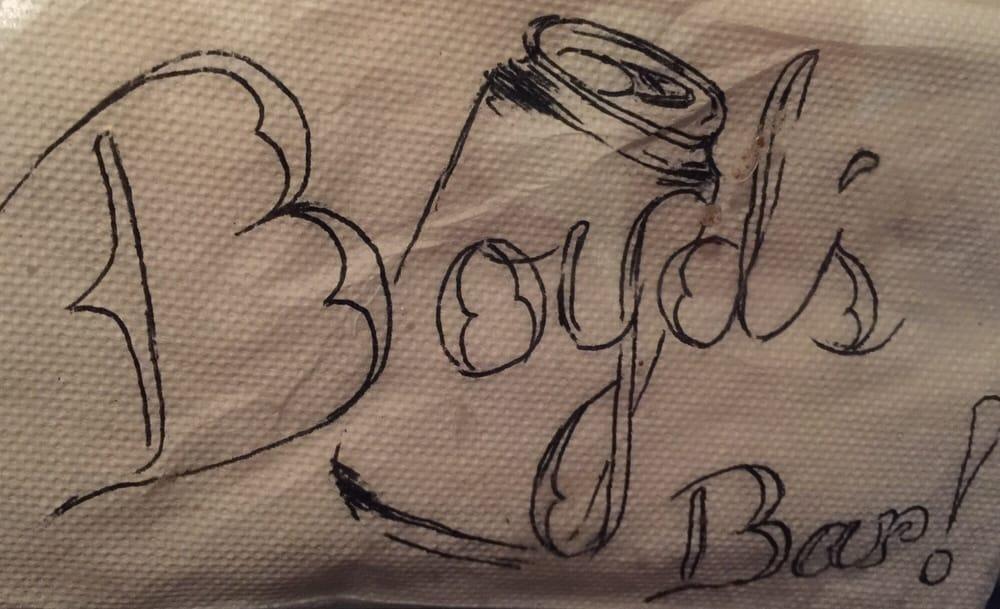 Boyd's Bar and Grill: 108 E Main St, Fairbank, IA