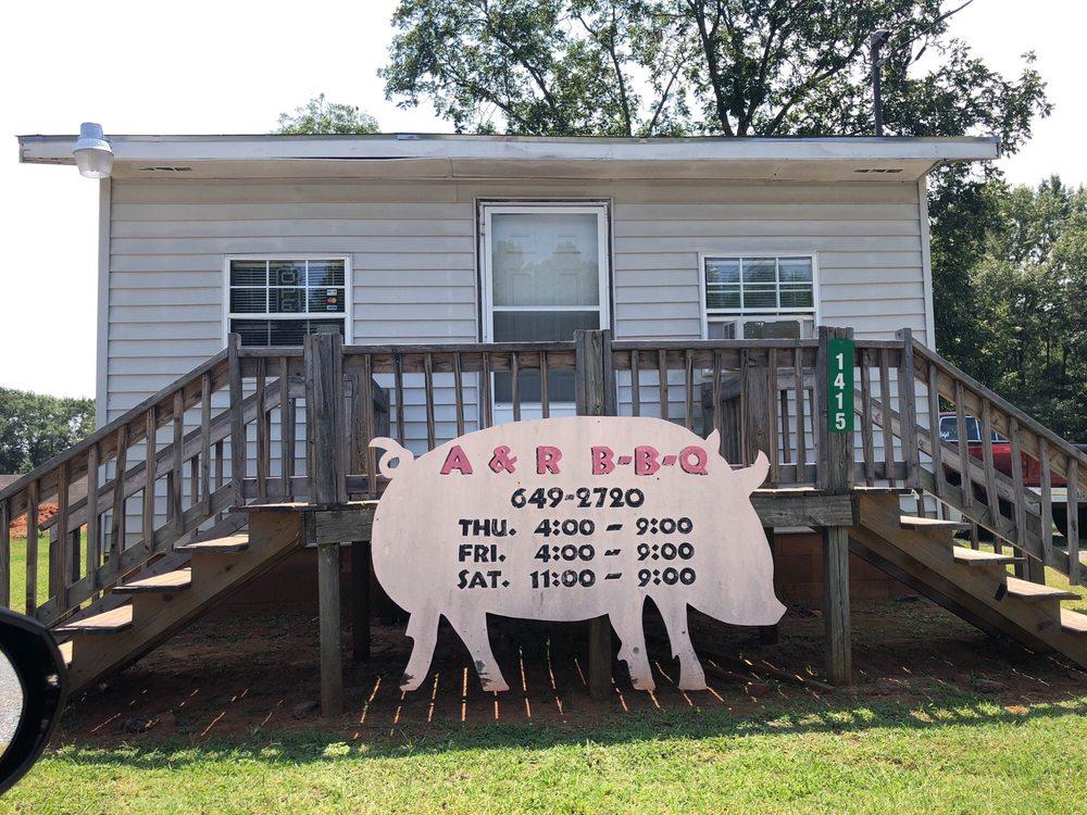 A & R BBQ: 1383 Pineville Rd, Buena Vista, GA