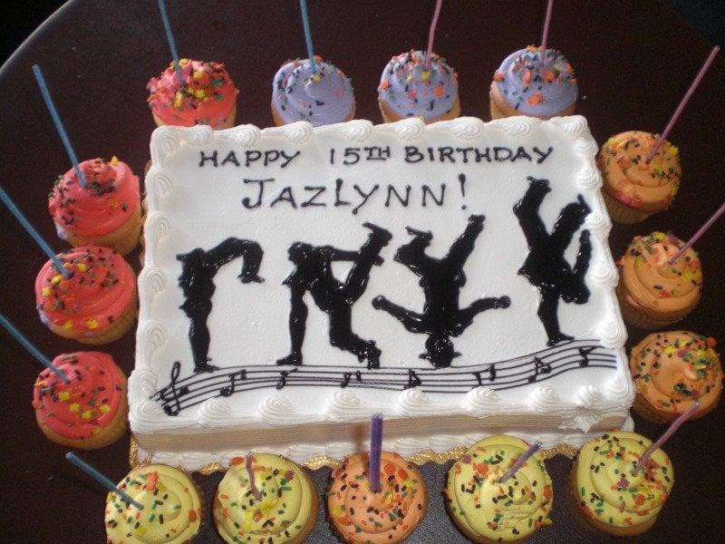 Dance Themed Birthday Cake Yelp