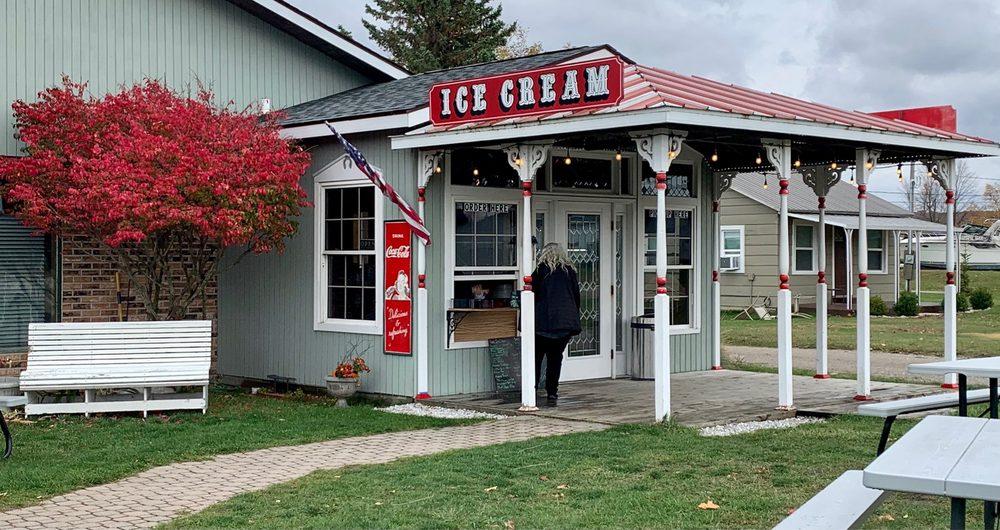 Arcadia Ice House: 17073 Northwood Hwy, Arcadia, MI