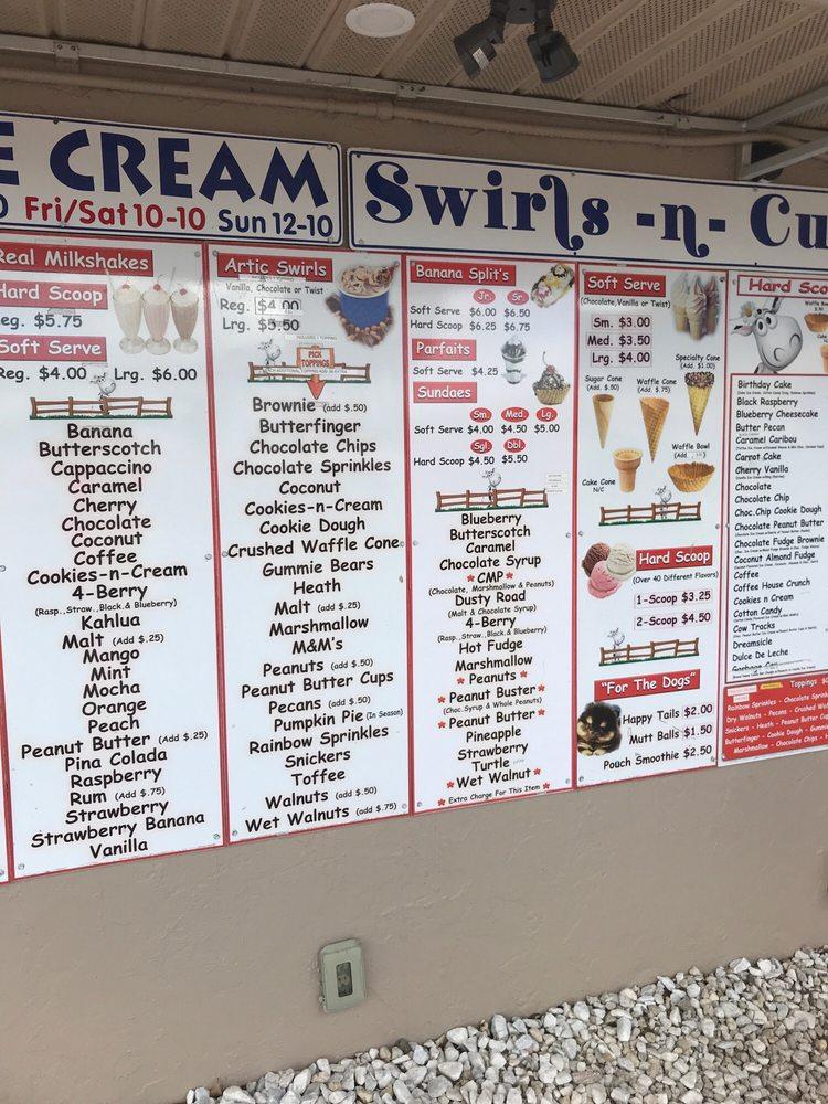 Swirls N Curls Ice Cream: 6945 Sunnybrook Blvd, Englewood, FL