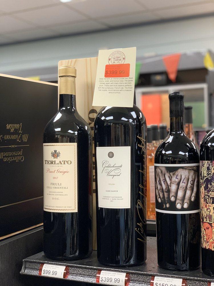 Carlo Russo's Wine & Spirit World: 626 N Maple Ave, Ho Ho Kus, NJ