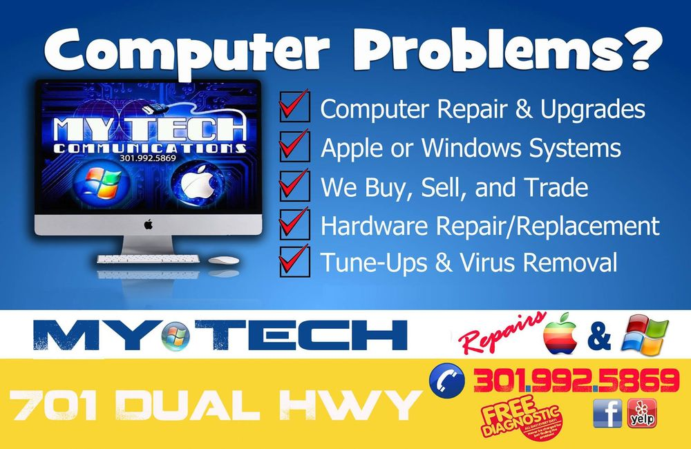 My Tech Computer Repair Store : 701 Dual Hwy, Hagerstown, MD