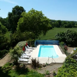 Photo Of Brittany Holiday Cottage   Baud, Morbihan, France. The Heated  Swimming Pool