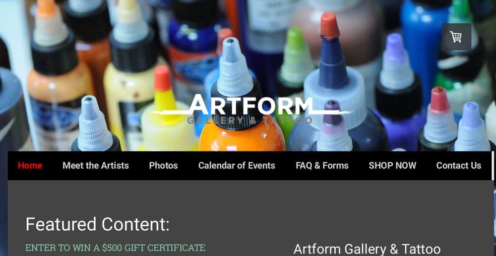 Artform Gallery & Tattoo: 2603 Leechburg Rd, Lower Burrell, PA