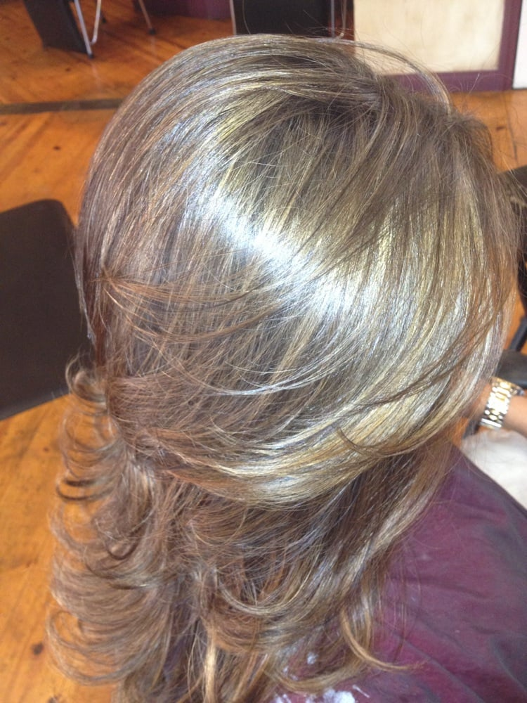 From Black To This Beautiful Naturally Blended Caramel Beige