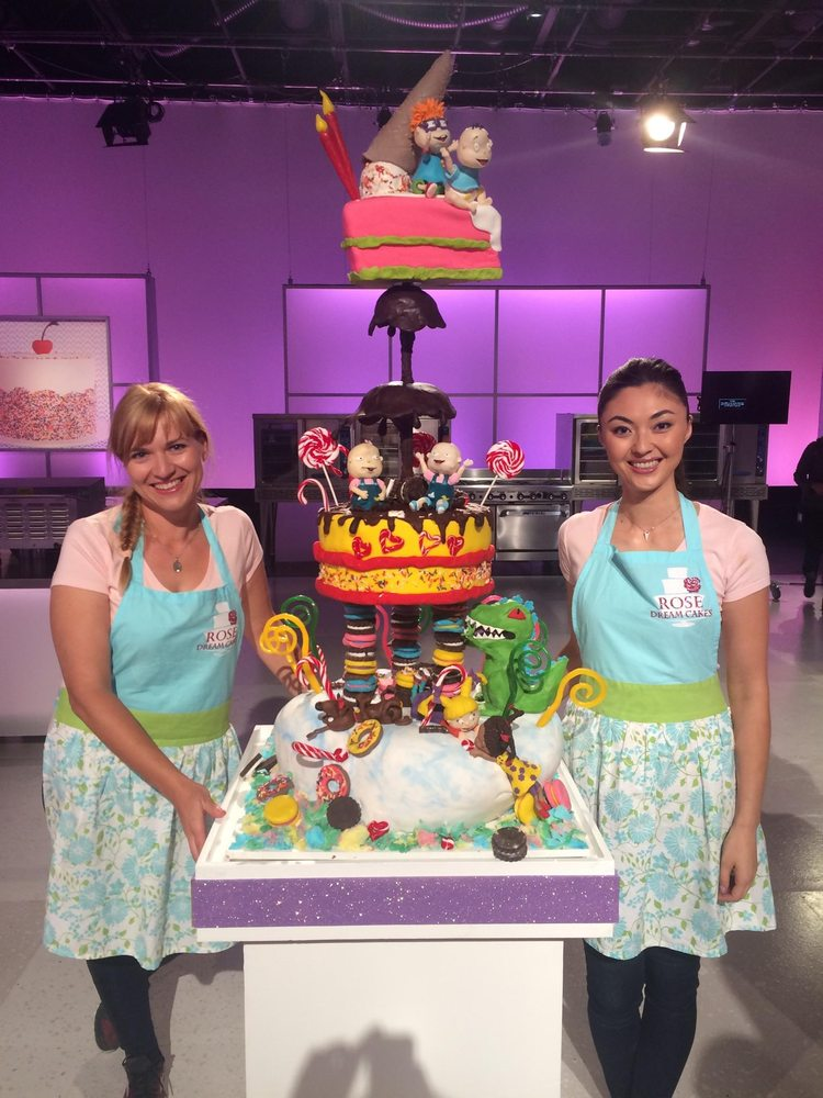 as seen on cake wars on the foodnetwork season 4 episode 13 rugrats
