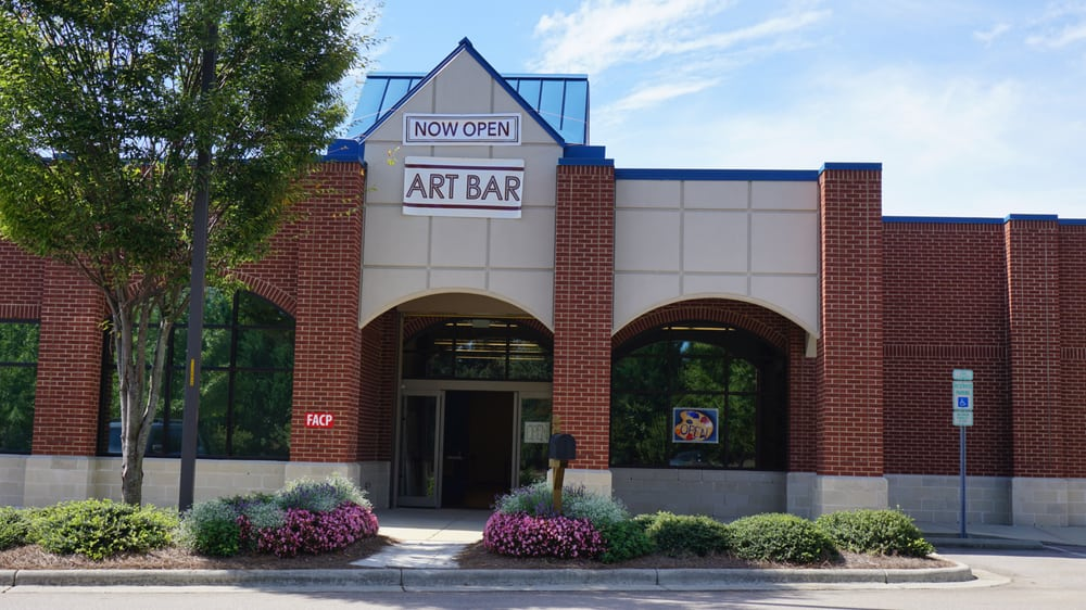 Art bar raleigh closed 6109 maddry oaks ct 12 photos for Paint and wine raleigh