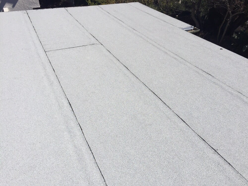 Beautiful White Bitumen Torch Down Roof Yelp