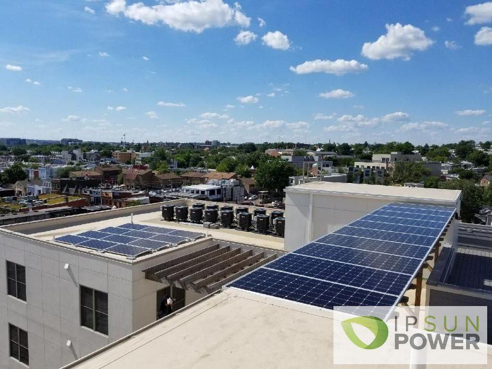 Solar Panels On A Condo Building In Washington Dc Yelp