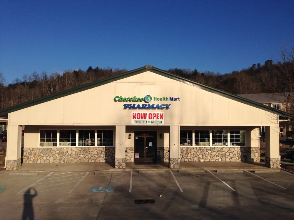 Cherokee  Pharmacy: 664 Cherokee Crossing, Whittier, NC