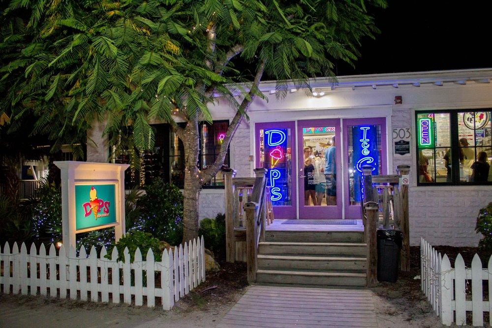Dips Ice Cream: 503 Pine Ave, Anna Maria, FL