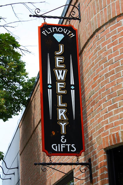 Plymouth Jewelry & Gifts: 620 Starkweather St, Plymouth, MI