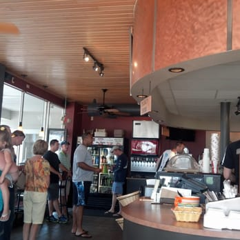 Photo Of Dockside Deli   Port Washington, WI, United States. Lines Can Get