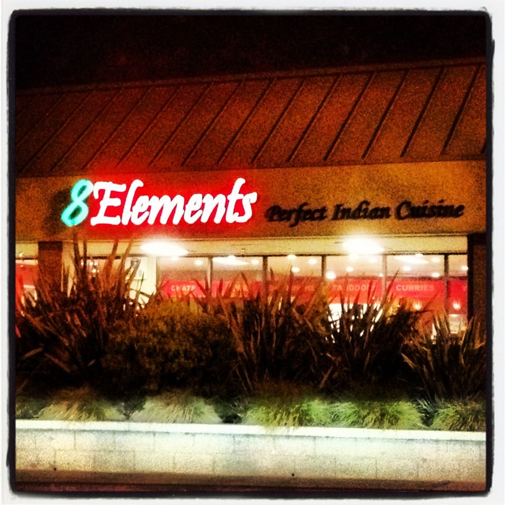 Store front yelp for 8elements perfect indian cuisine