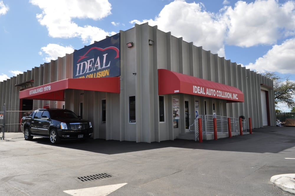 Ideal auto collision 14 foto 39 s garages 2990 simms st for Garage ideal auto lanester