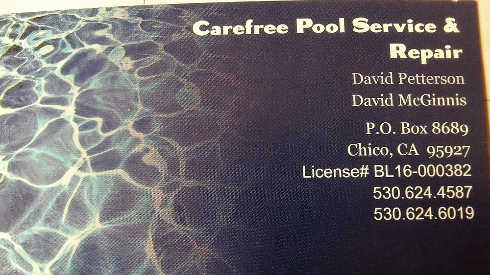 Carefree Pool Service & Repair: Chico, CA