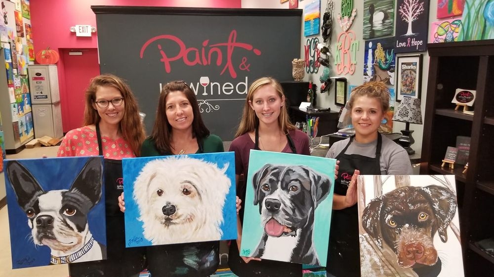 Paint and Unwined - Murrells Inlet: 804 Inlet Square Dr, Murrells Inlet, SC