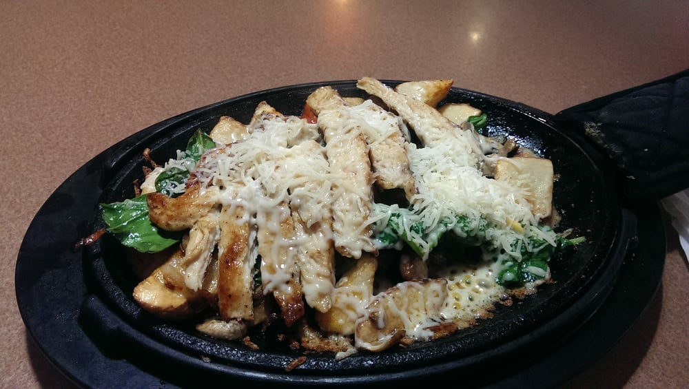 Parmesan Chicken skillet-meed parmesan cheese with diced tomatoes