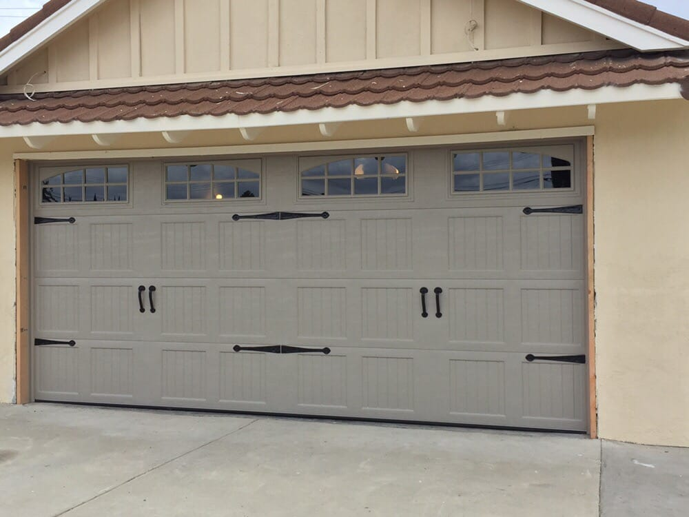 Something Classy And Modern Amarr Garage Door Terratone Color Yelp