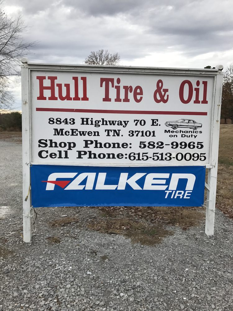 Hull Tire and Oil: 8849 US Hwy 70 E, McEwen, TN