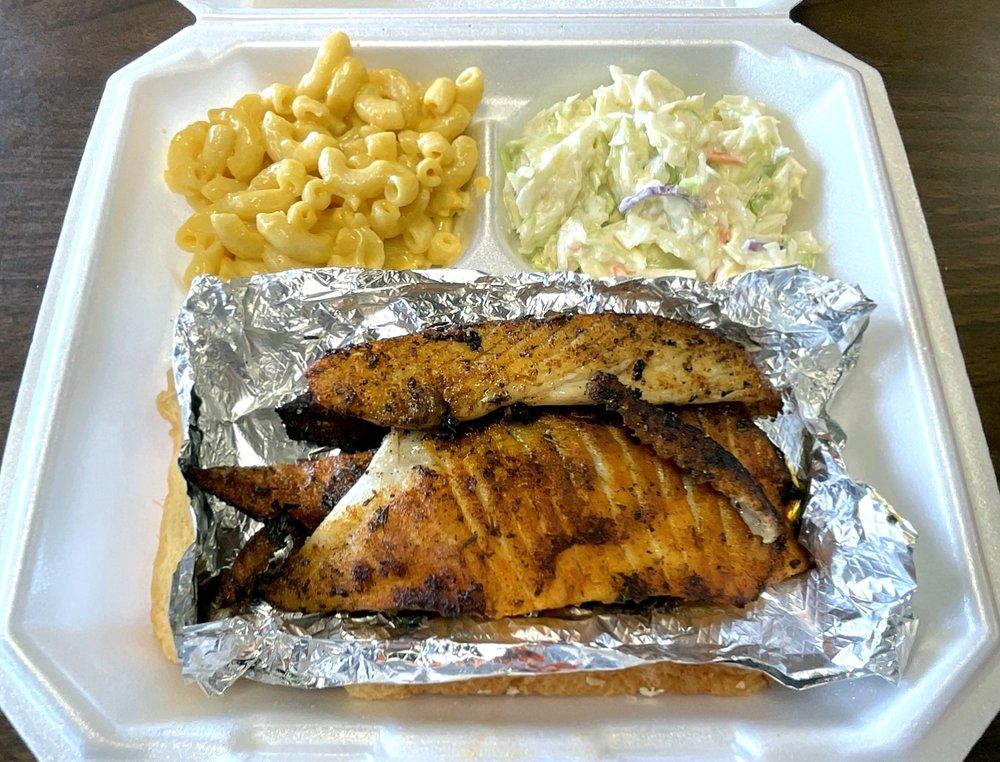 Lutfi's Fried Fish: 1242 W Foxwood Dr, Raymore, MO