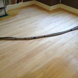 photo of allin hardwood floor refinishing vancouver bc canada during