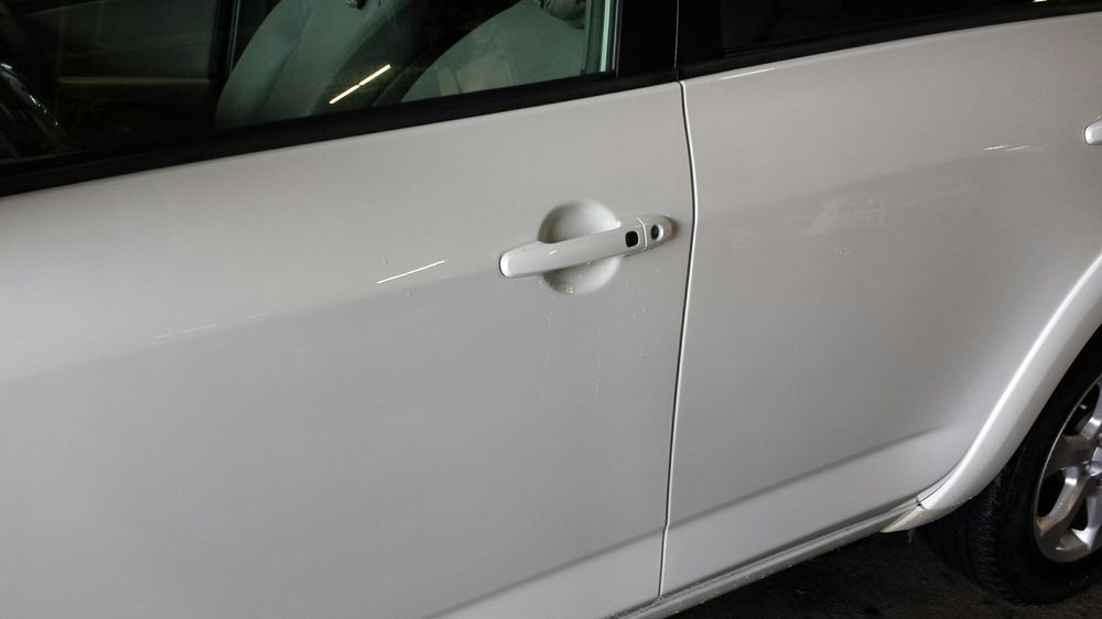 Limited Edition Pearl White paint job repair, so smooth  - Yelp
