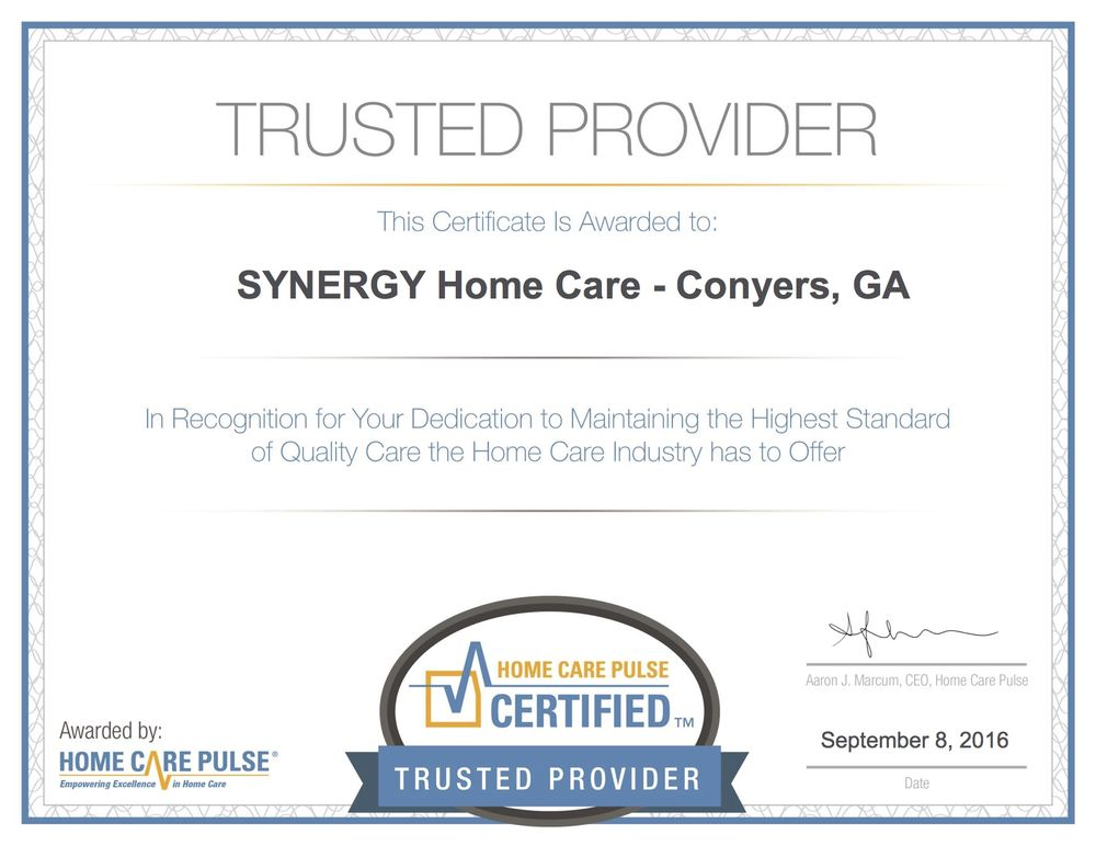 Synergy Homecare Home Health Care 1775 Parker Rd Conyers Ga
