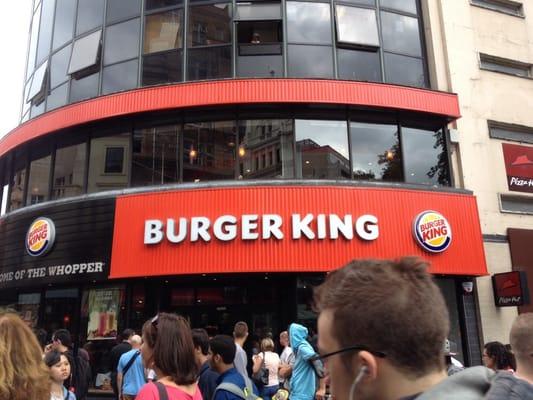 burger king fast food 150 piccadilly st james 39 s london united kingdom restaurant. Black Bedroom Furniture Sets. Home Design Ideas