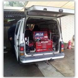mobile auto service van