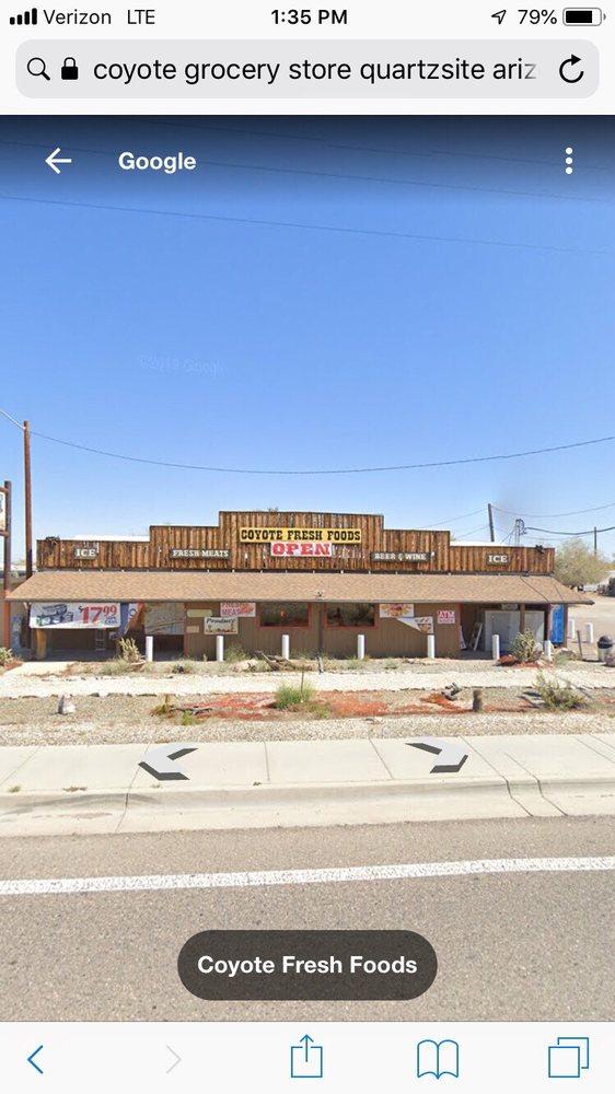 Coyote Fresh Foods: 410 E Main St, Quartzsite, AZ