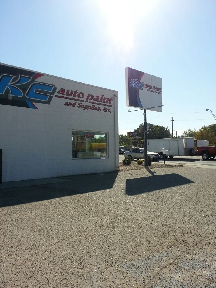 Kc auto paint and supplies inc body shops 4224 w for Kc paint shop