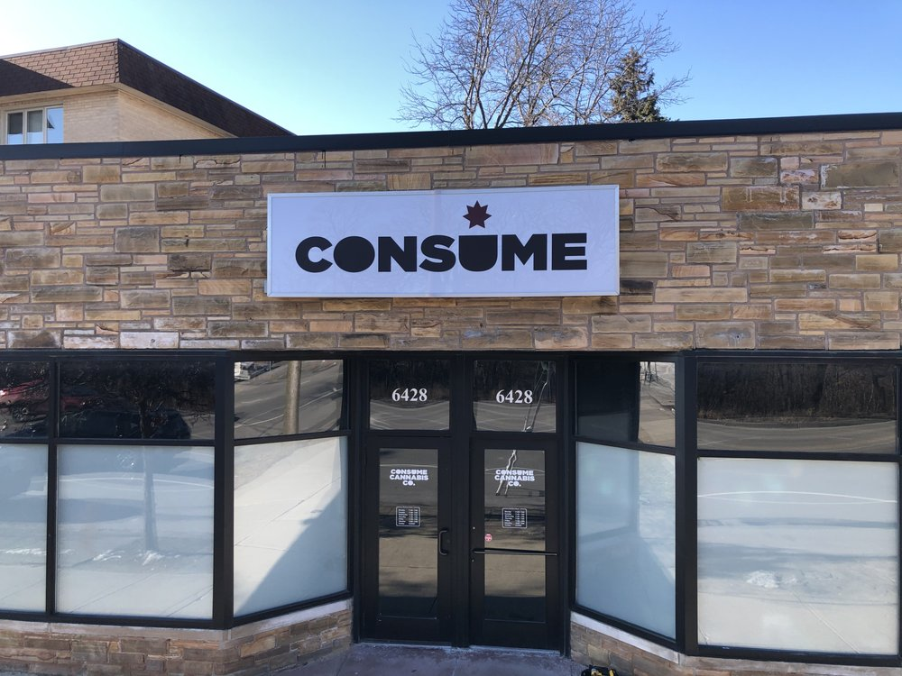 Consume Cannabis Company - Chicago: 6428 N Milwaukee Ave, Chicago, IL