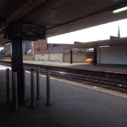 Salford Central Train Stations New Bailey Street City Centre