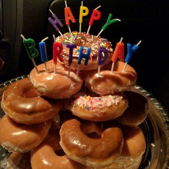 Awesome Krispy Kreme Tower Wedding Ideas Funny Birthday Cards Online Alyptdamsfinfo