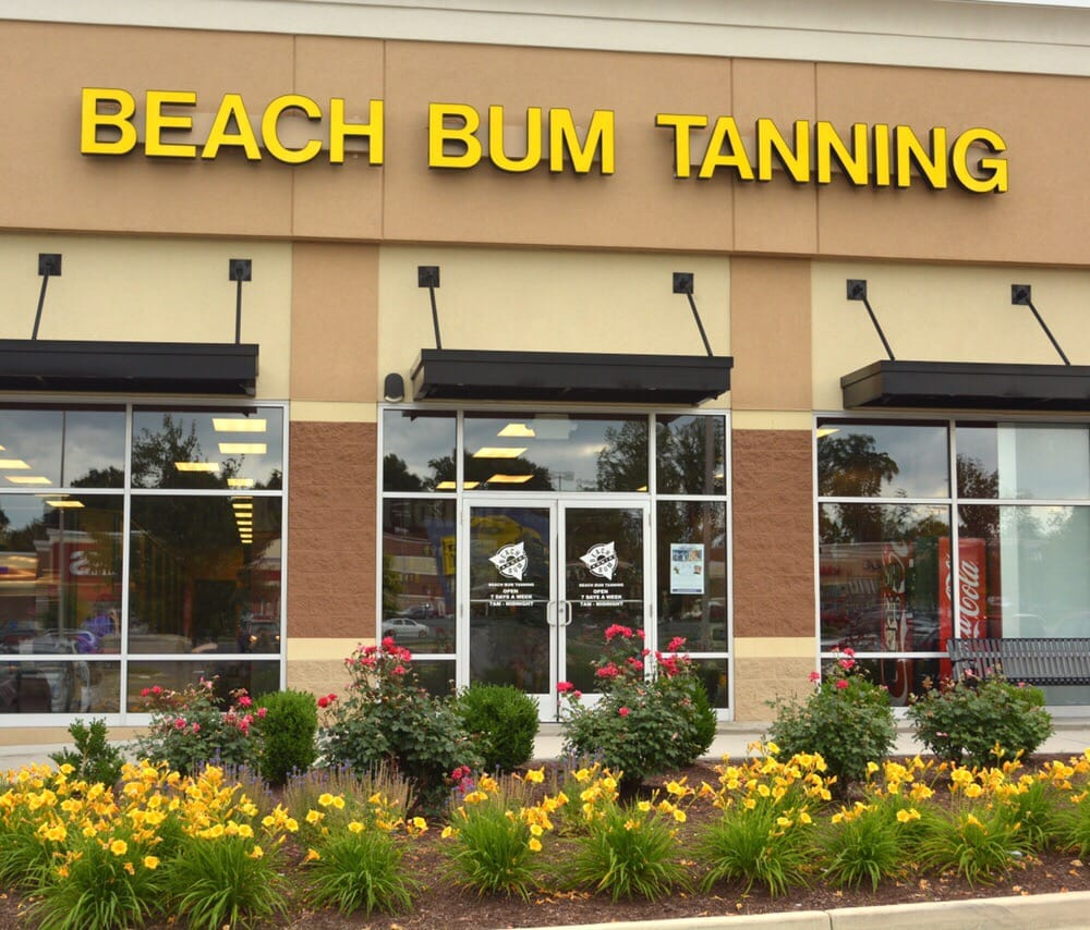Beach bum tanning single session