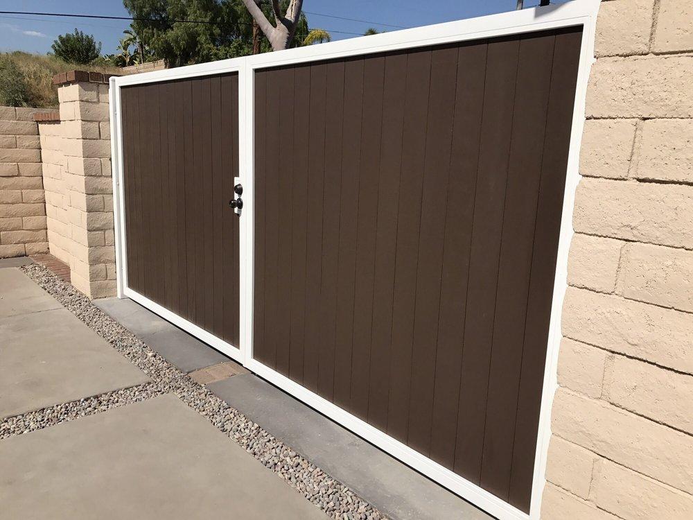 Side gates yelp for Local garage door