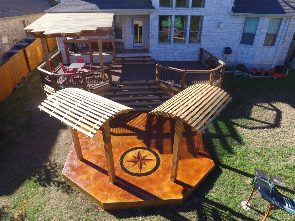 Hometown Decking and Decorative Concrete: Buda, TX