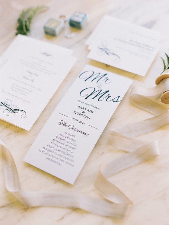 double sided wedding program escort cards yelp