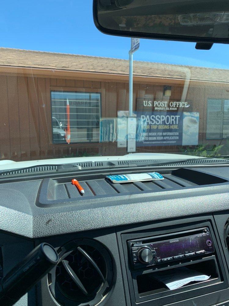 US Post Office: 73101 Pleyto St, Bradley, CA