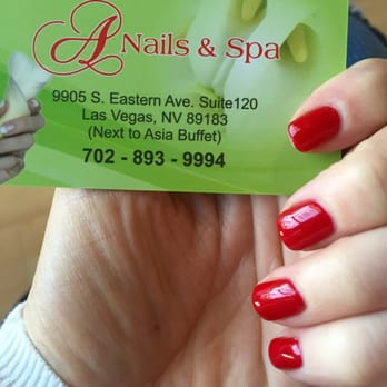 A nail spa 83 photos nail salons 9905 s eastern ave for 24 nail salon las vegas