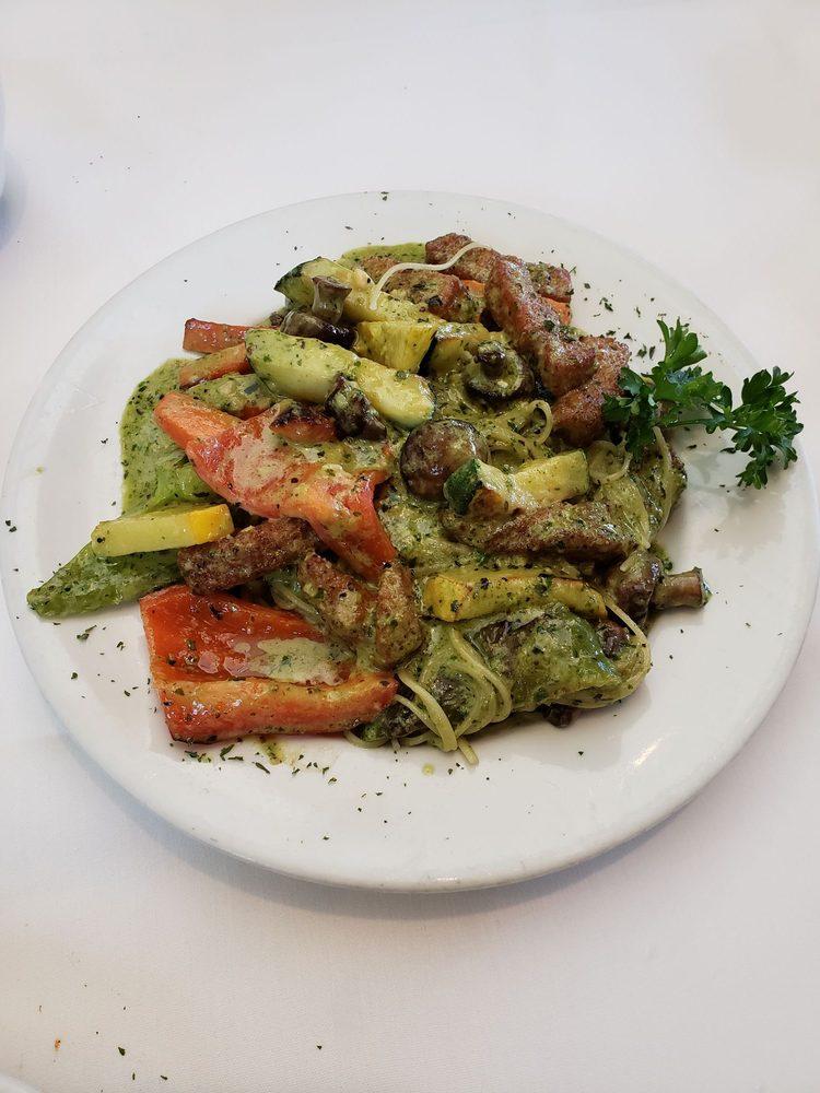 Calamari Veggie Linguine Sub With Angel Hair Pasta Yelp