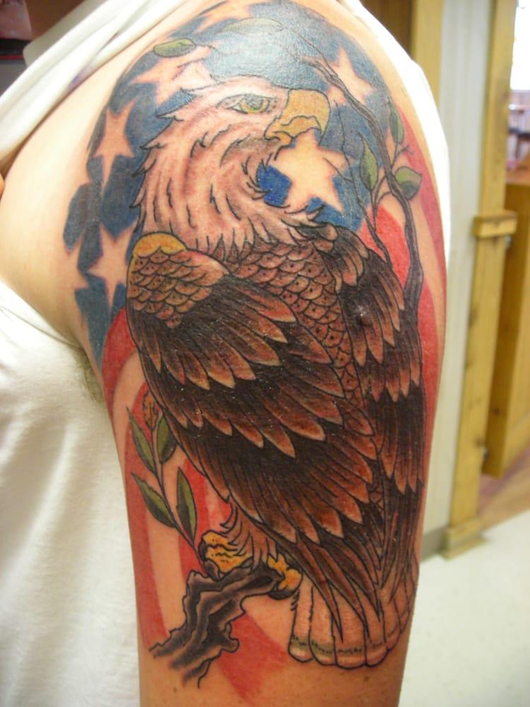 Nardawahl s tattoo emporium tattoo 122 1 2 w main st for Main st tattoo