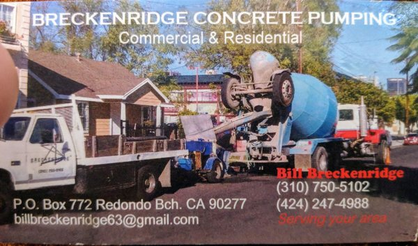 Breckenridge Concrete Pumping - 252 W 16th St, San Pedro