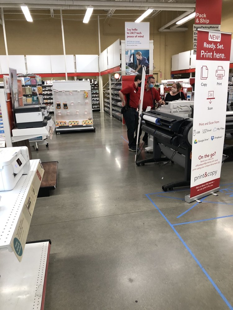 Office Depot: 2205 S Grove Ave, Ontario, CA