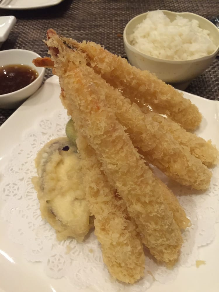 Shrimp tempura yelp for Aoi japanese cuisine newport