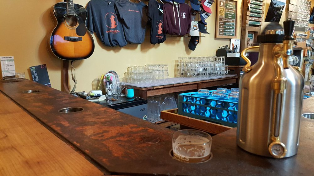 Social Spots from Stones Throw Brewery